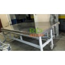 3 Tables plateaux Inox